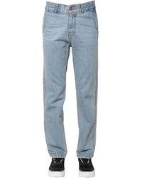 ADER error Cotton Denim Jeans - Blue