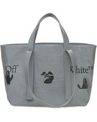 Off-White c/o Virgil Abloh Сумка Commercial Logo 45 - Серый