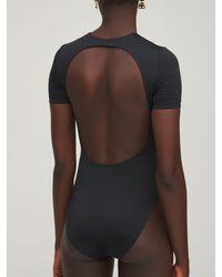 Balenciaga ライクラ水着 - ブラック
