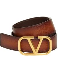 Valentino Garavani Valentino Garavani Кожаный Ремень С Пряжкой 3.5cm - Многоцветный