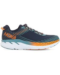 Hoka One One Clifton 5 Running Trainers - Blue