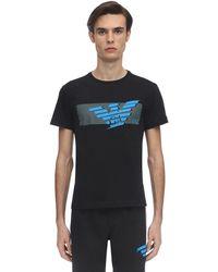 EA7 - ジャージーtシャツ - Lyst