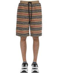 Burberry Shorts Aus Acrylmischung - Natur