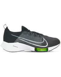 Nike Air Zoom Tempo Next% Sneakers - Black