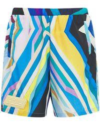 Formy Studio Oceano Techno Shorts W/logo - Blue