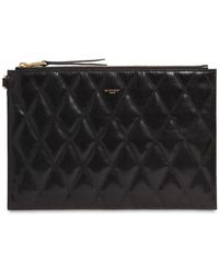 Givenchy Quilted Leather Pouch - Black
