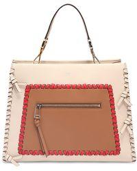 Fendi - Medium Runaway Leather Top Handle Bag - Lyst