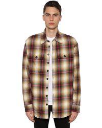 DSquared² - フェイクシアリング コットンシャツジャケット - Lyst