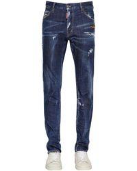 DSquared² Cool Guy コットンデニムジーンズ 16.5cm - ブルー