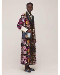 Dolce & Gabbana Denim Patchwork フラットサンダル 10mm - ブルー