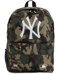 KTZ Ny Yankees Camo Backpack - Green