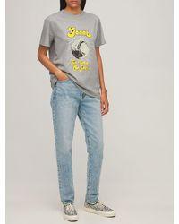 "Ganni T-shirt Aus Bio-baumwolle ""pluto"" - Grau"