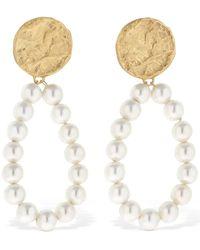 Nina Kastens Jewelry Coin Drop Earrings - Mehrfarbig