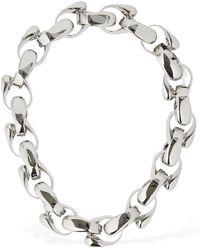 """Jil Sander Halskette """"bold Chain"""" - Mettallic"""