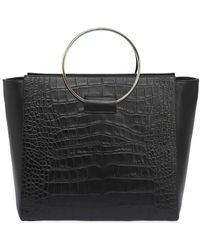 Little Liffner - Embossed Leather Tote Bag W/ Ring - Lyst