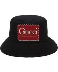 Gucci - ブラック Whatever The Season バケット ハット - Lyst