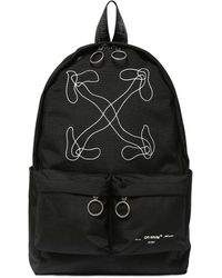 Off-White c/o Virgil Abloh Black Abstract Arrows Backpack