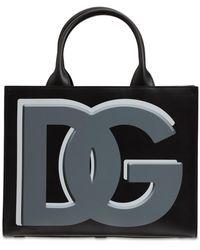 Dolce & Gabbana Dg Daily レザートートバッグ - ブラック