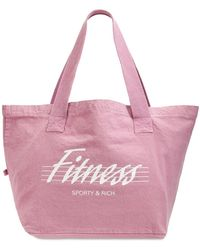 Sporty & Rich Lvr Exclusive - Tote Bag Fitness - Rose