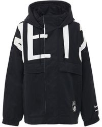 Nike - Нейлоновая Куртка Nrg Ir С Капюшоном - Lyst