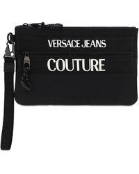 Versace Jeans Couture Pochettes Günstig im Sale - Schwarz