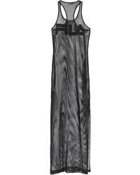 Fila Длинное Платье - Черный