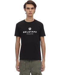 """Belstaff T-shirt En Jersey De Coton """" 1924"""" - Noir"""