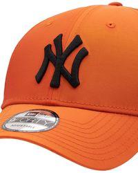 "KTZ Baseballkappe ""hypertone Ny Yankees 9forty"" - Orange"