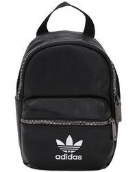 adidas Originals Рюкзак Из Искусственной Кожи - Черный