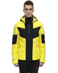 EA7 Technical Down Ski Jacket - Yellow