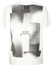 A_COLD_WALL* - Graphic コットンジャージーtシャツ - Lyst