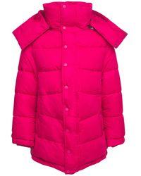 Balenciaga Куртка Из Нейлона С Логотипом - Розовый