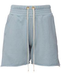 """Les Tien Shorts """"yacht"""" - Blau"""