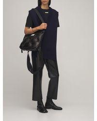 Maison Margiela Кожаные Ботинки Chelsea Tabi - Черный