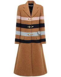 Lanvin Mantel Aus Wollmischung - Mehrfarbig