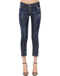 DSquared² Jennifer Dark Wash Cotton - Blue