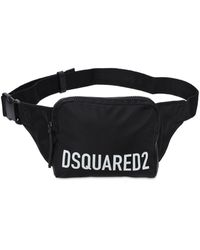 DSquared² Logo Nylon Belt Bag - Black