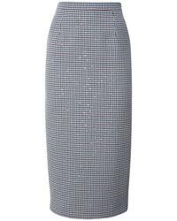 Alessandra Rich スパンコールペンシルスカート - マルチカラー