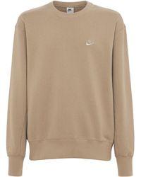 "Nike Klassisches-sweatshirt ""essentials"" - Natur"