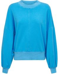 """Electric and Rose Pull-over Col Rond """"davis"""" - Bleu"""