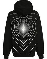 Marni Infinity Heart ジャージーフーディー - ブラック