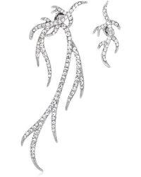 FEDERICA TOSI - Twig Asymmetrical Earrings - Lyst