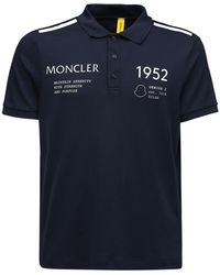 Moncler Genius 1952 ピケポロシャツ - ブルー