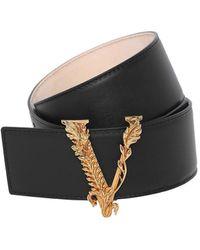 Versace Кожаный Ремень 50mm - Многоцветный