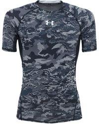 Under Armour Ua Armour Hg プリントtシャツ - ブルー
