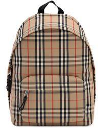 Burberry Vintage Check Nylon Backpack - Mehrfarbig