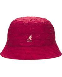 Kangol Шапка Pucker Check - Красный