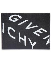 Givenchy Кожаная Кредитница - Черный