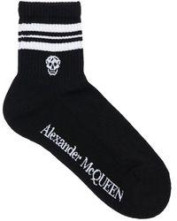 Alexander McQueen Хлопковые Носки - Черный