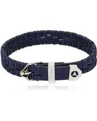 Northskull - Alawo Stitched Leather Bracelet - Lyst